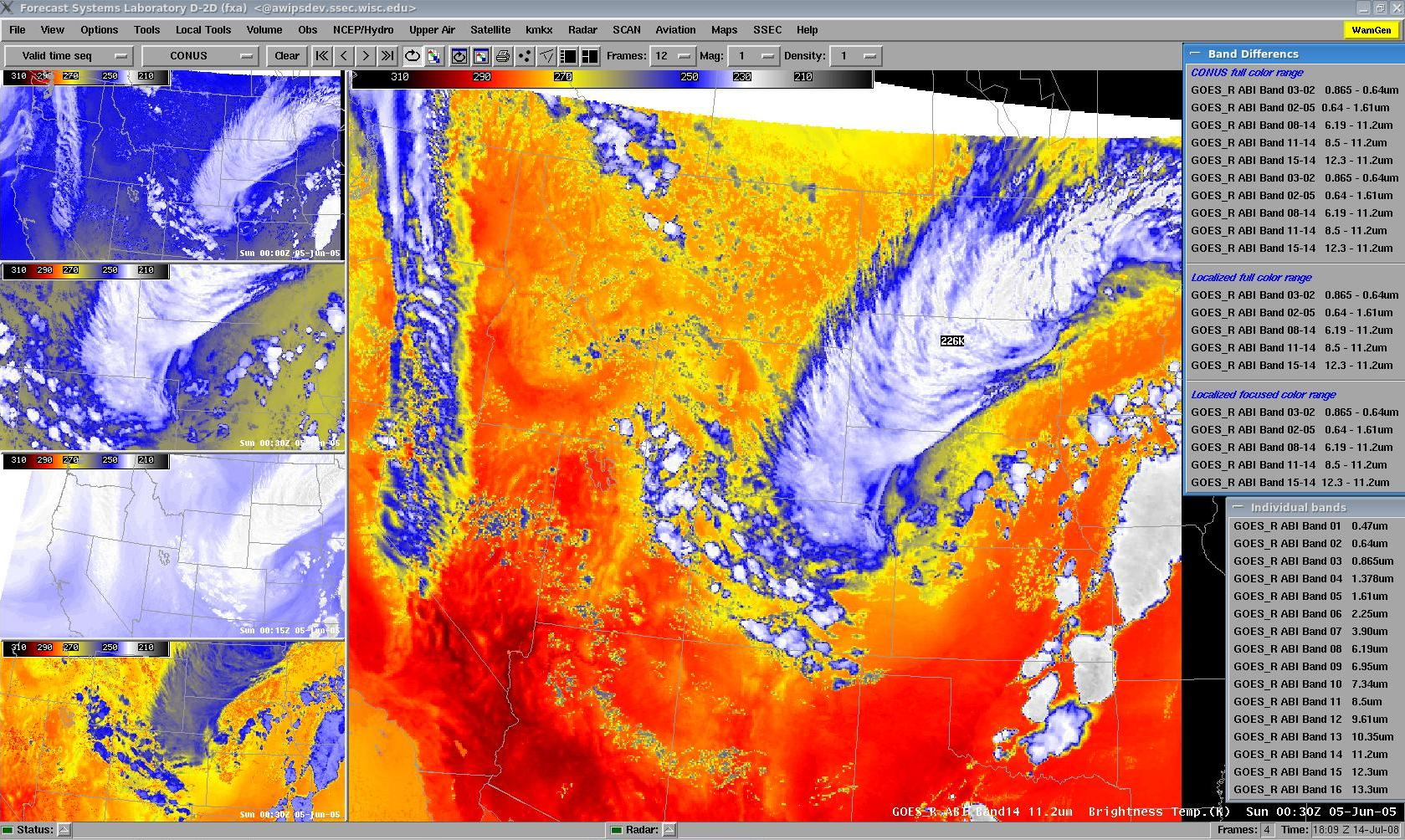 ABI imagery in AWIPS