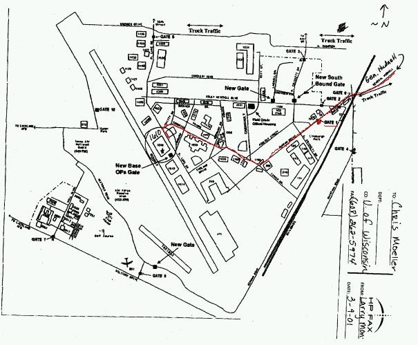 Map Kirtland Air Force Base ... Map of Kelly Air Force Base ...