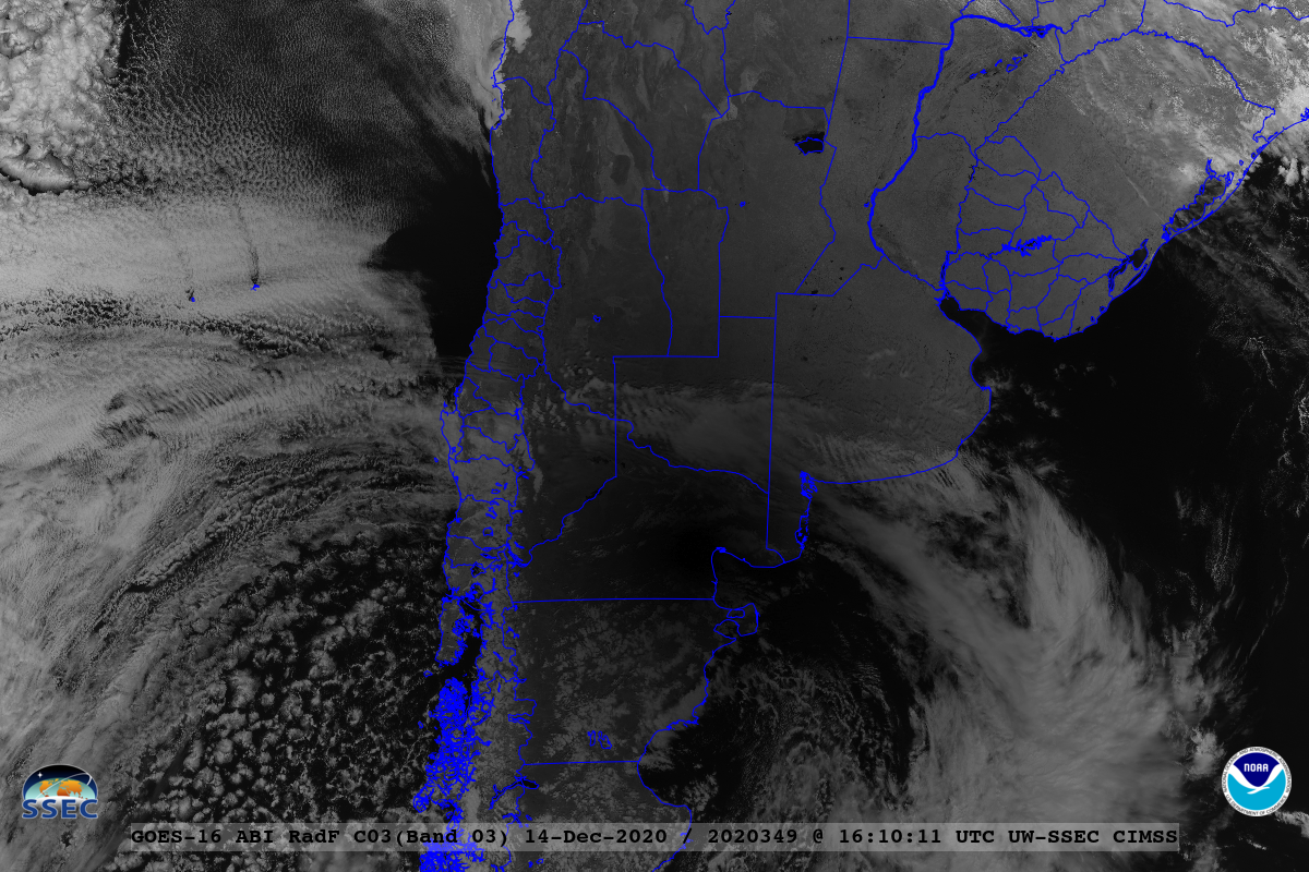 GOES-16 Near-Infrared