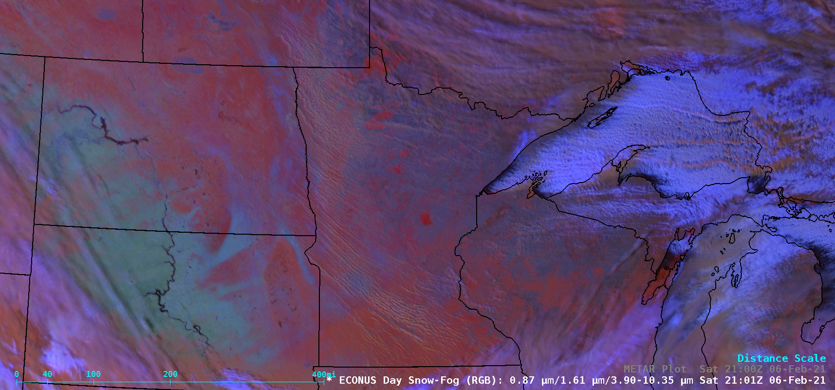GOES-16 Day Snow-Fog RGB images [click to play animation | MP4]