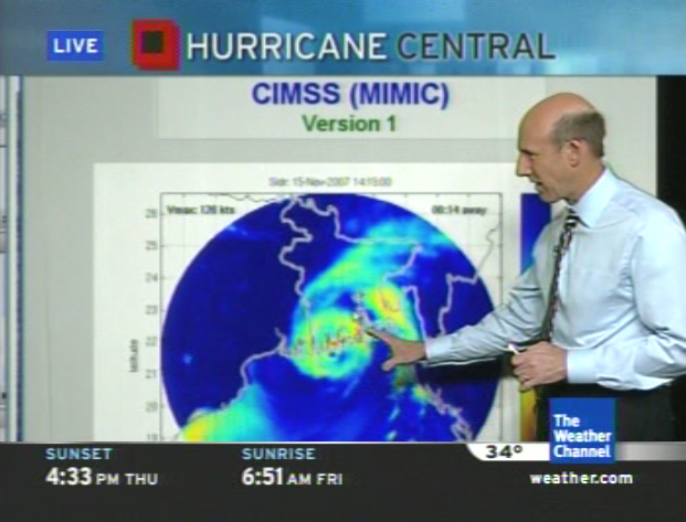 MIMIC on The Weather Channel