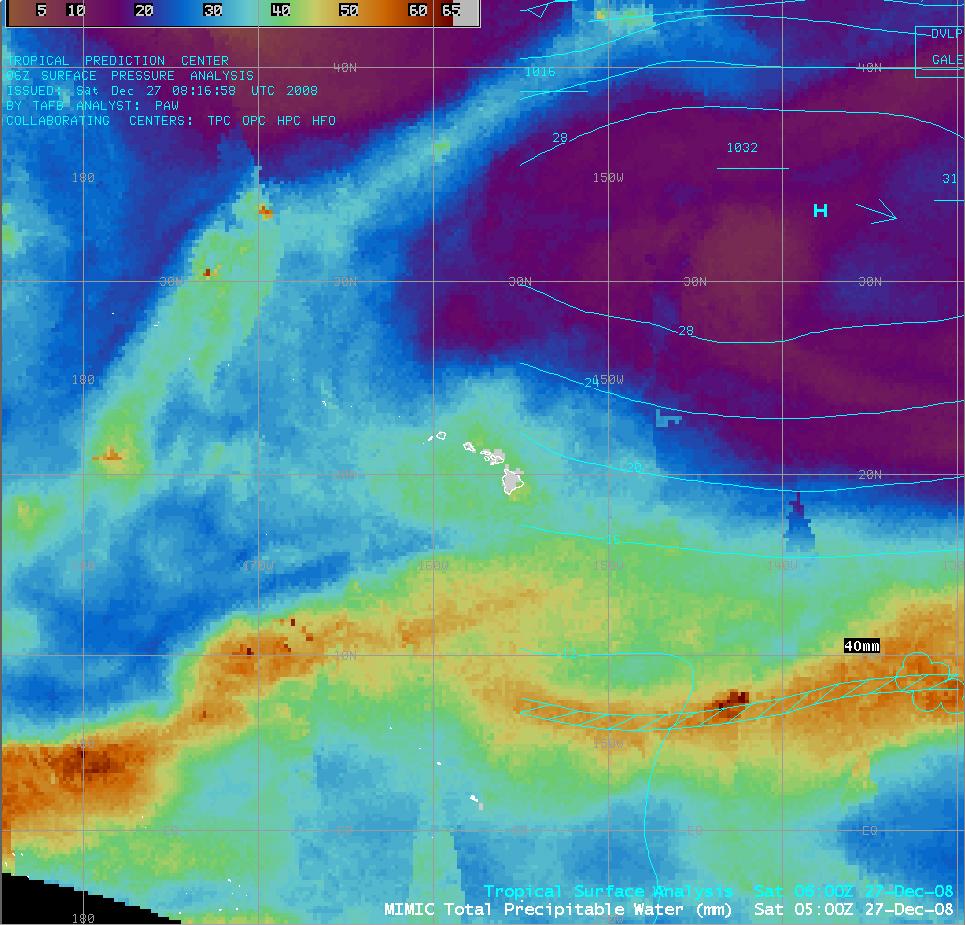 MIMIC Total Precipitable Water (TPW)