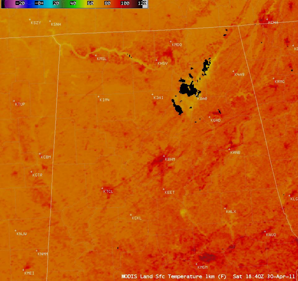 MODIS Land Surface Temperature product