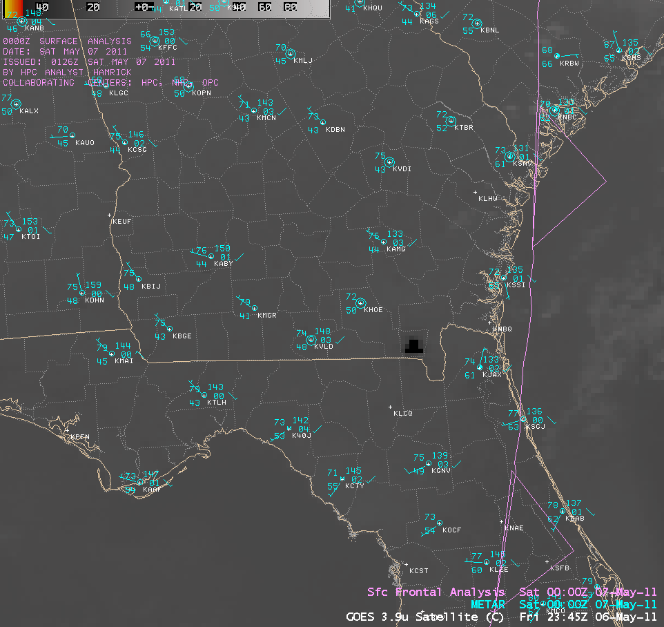 GOES-13 3.9 µm shortwave IR images (click image to play animation)