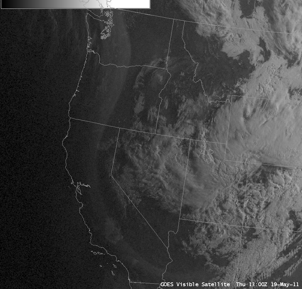 AWIPS GOES-11 / GOES-13 visible image composite (click image to play animation)
