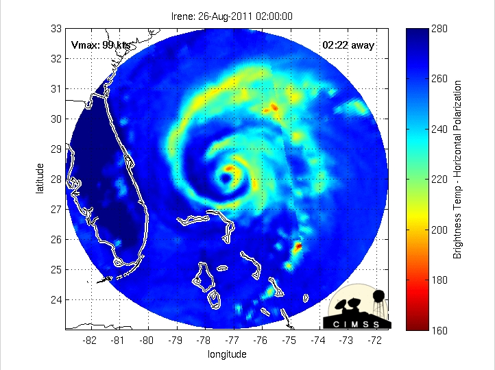 Morphed Microwave imagery (click image to play animation)