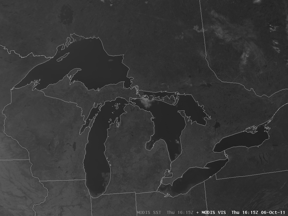 06 October MODIS Visible Image