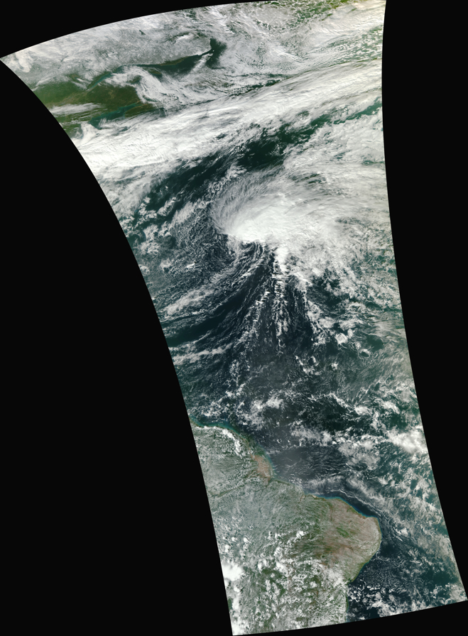 NPP VIIRS Red/Green/Blue (RGB) true color image