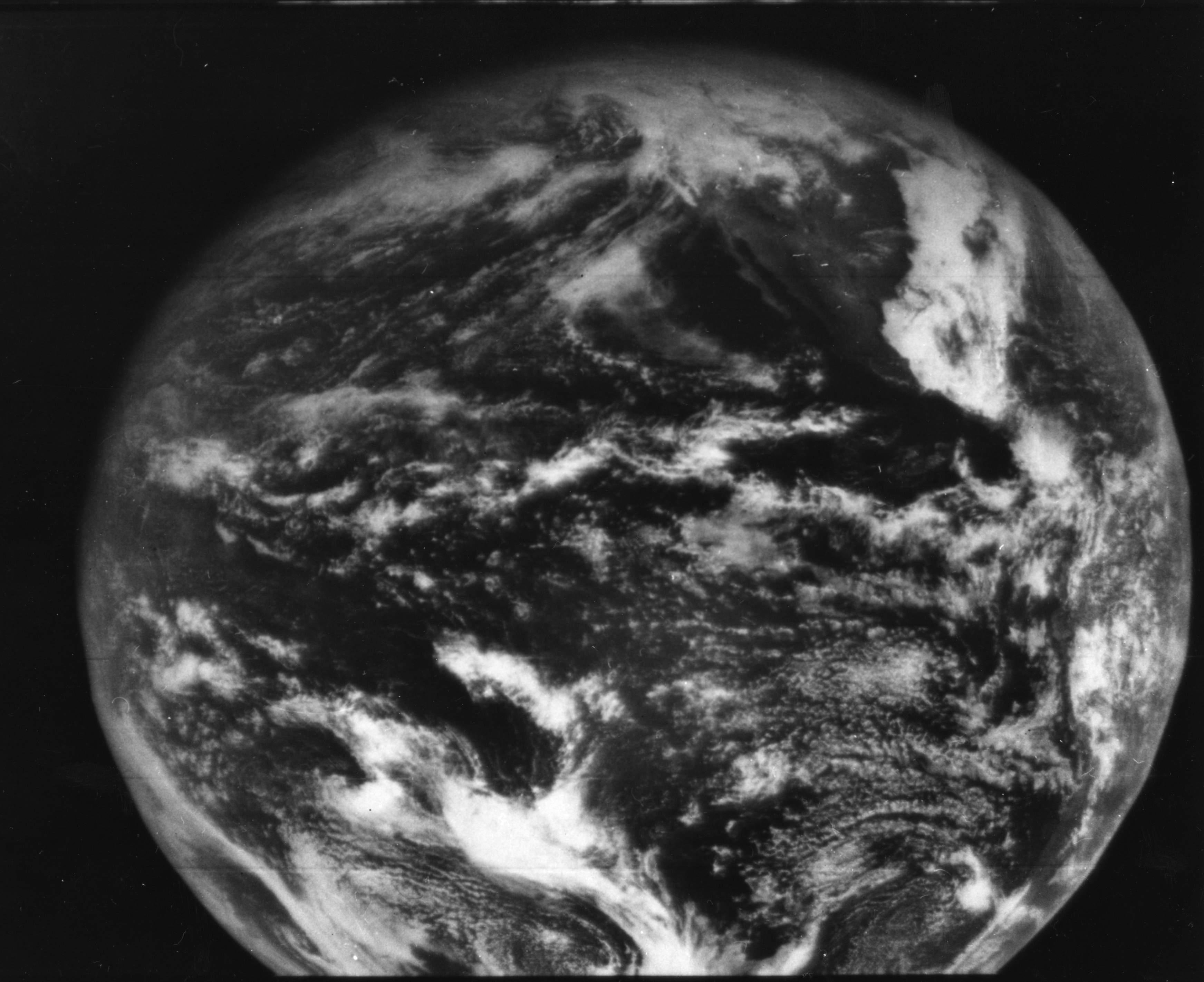 ATS-1 visible image (11 December 1966)