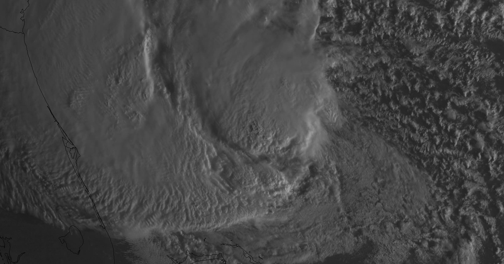 GOES-14 0.63 µm visible channel image (click image to play QuickTime movie)