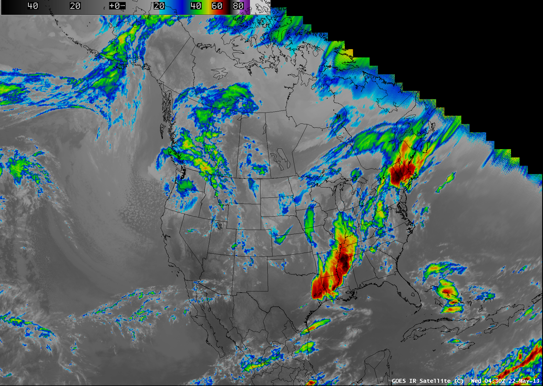 GOES-15 (GOES-West) full-disk coverage