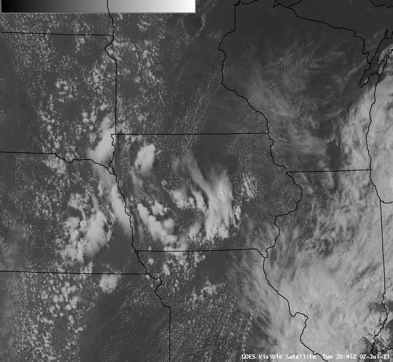 GOES-13 0.63 µm visible channel images (click image to play animation)