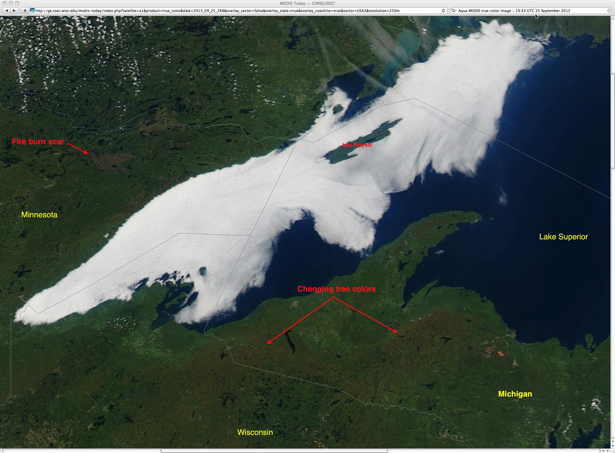 Aqua MODIS true-color image