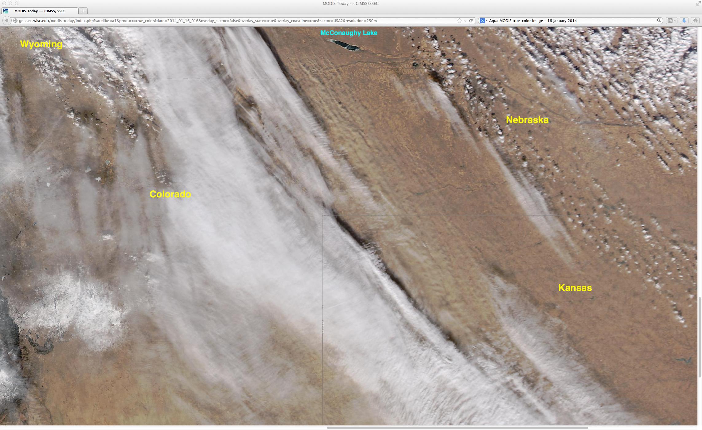 Aqua MODIS true-color RGB image