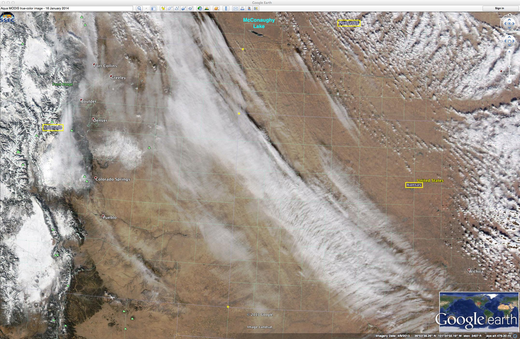 Aqua MODIS true-color RGB image (viewed using Google Earth)