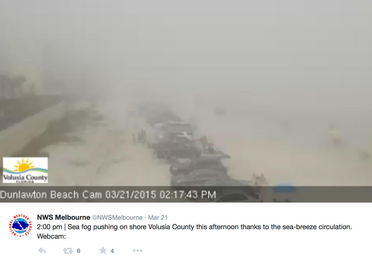 Dunlawton Beach webcam image