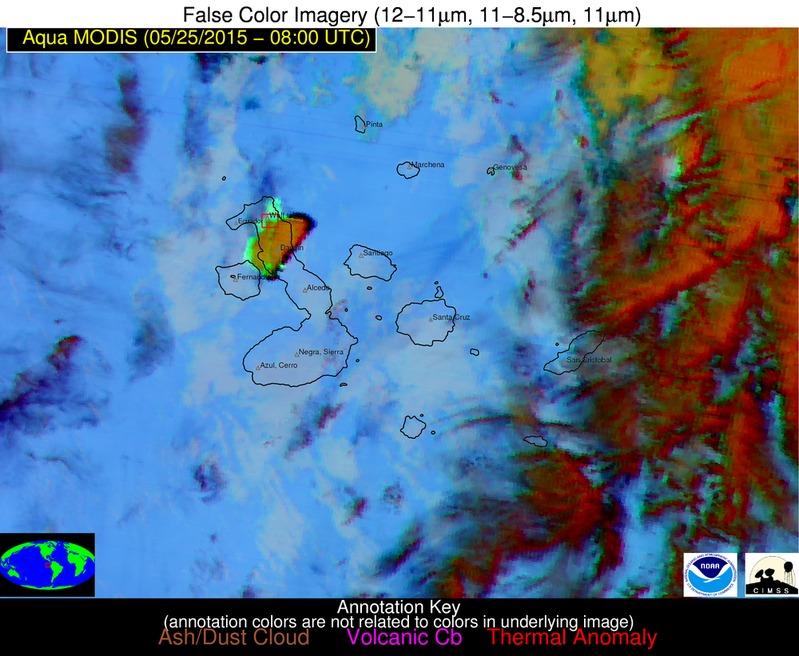 Aqua MODIS false-color RGB image