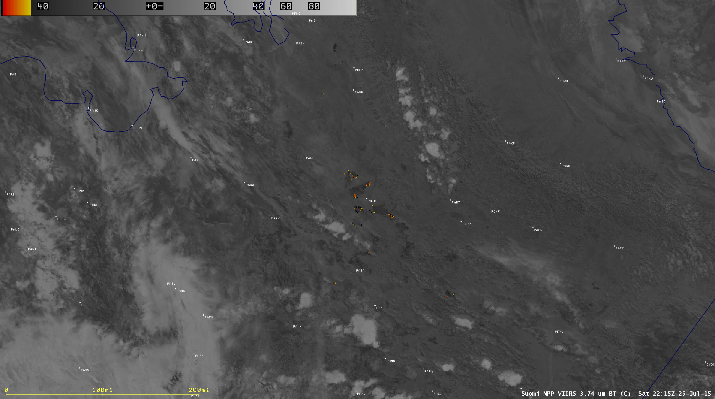 Suomi NPP VIIRS shortwave IR images [click to play animation]