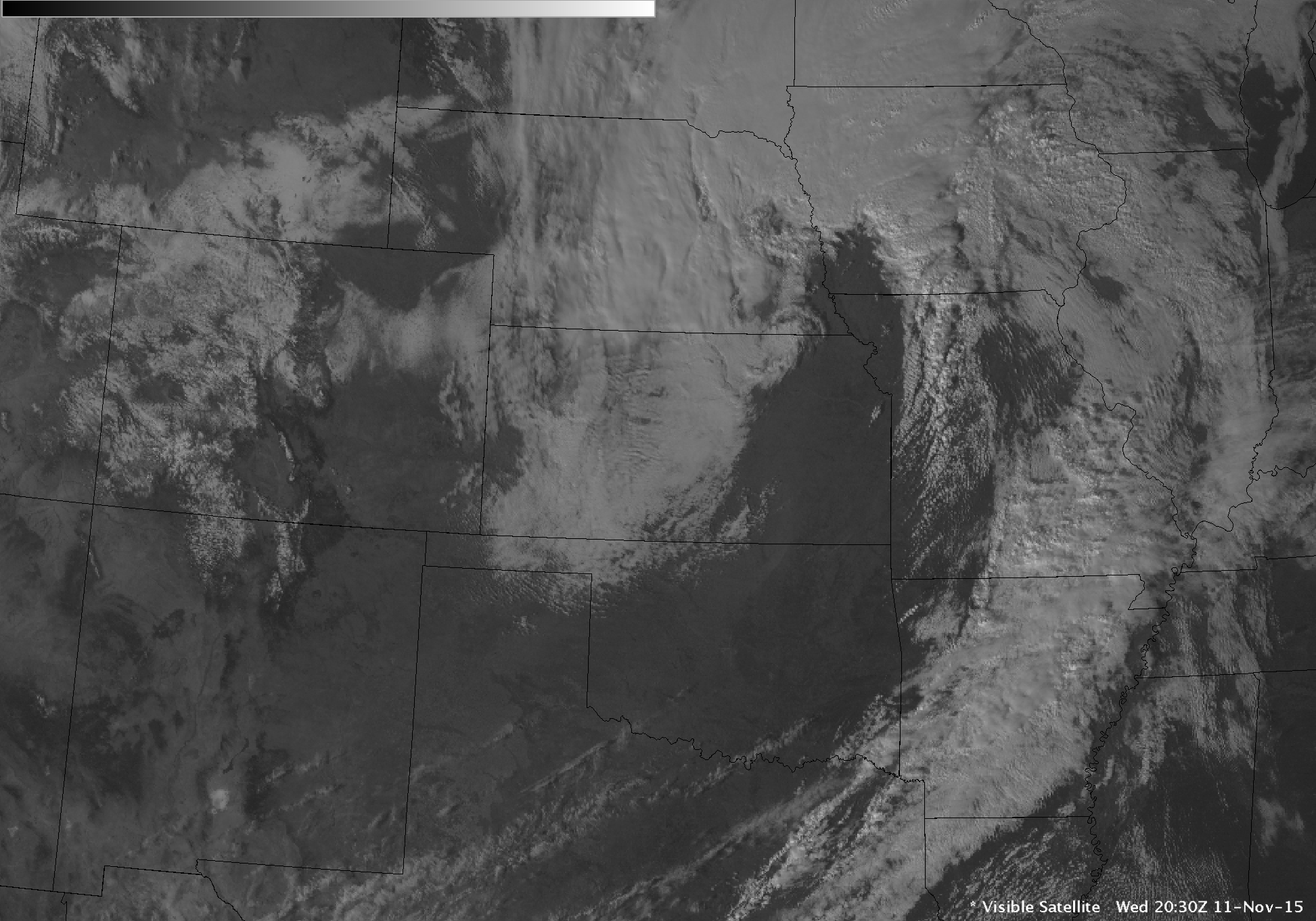 GOES-13 Visible (0.63 µm) images [click to play animation]