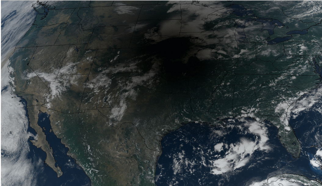 GOES-16 true-color RGB images [click to play animation]