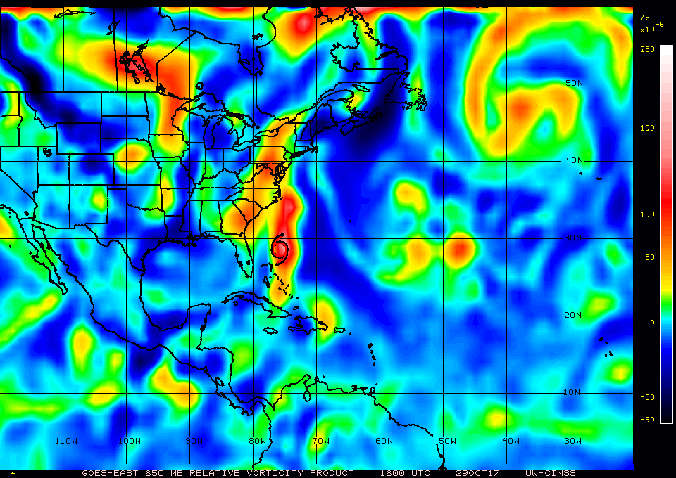 850 hPa Relative Vorticity product [click to play animation]