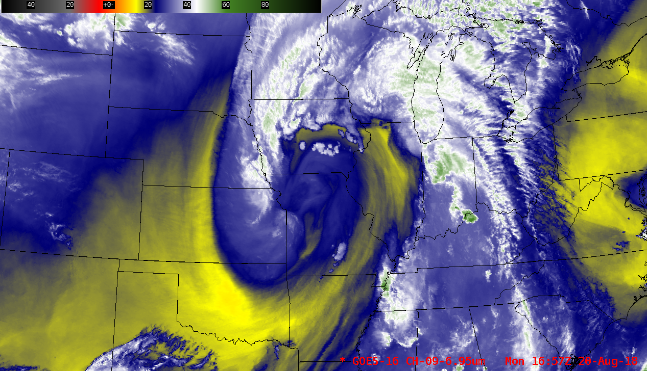 GOES-16 Mid-level Water Vapor (6.9 µm) images [click to play MP4 animation]