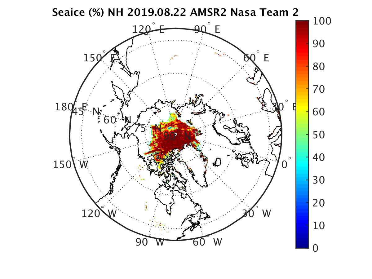 GCOM-W1 AMSR2 sea ice concentration [click to enlarge]