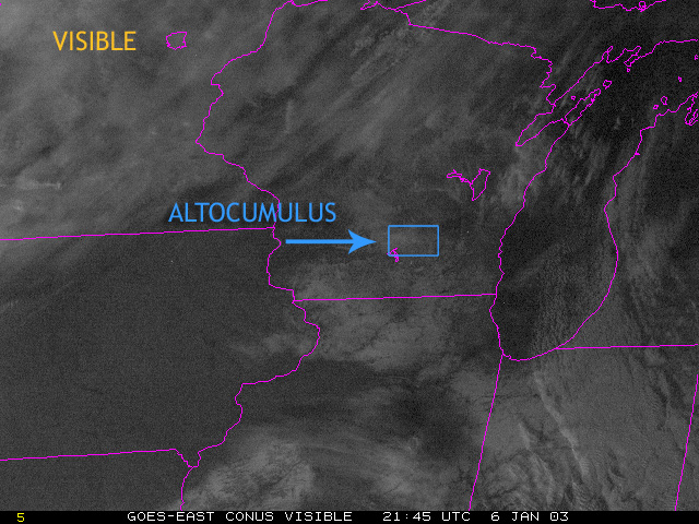 page |Altocumulus Clouds Satellite