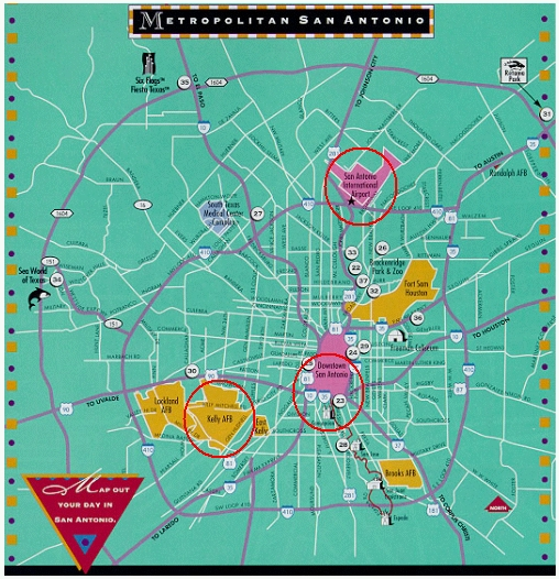 Hotels In San Antonio >> Terra-aqua eXperiment 2002 (TX-2002)